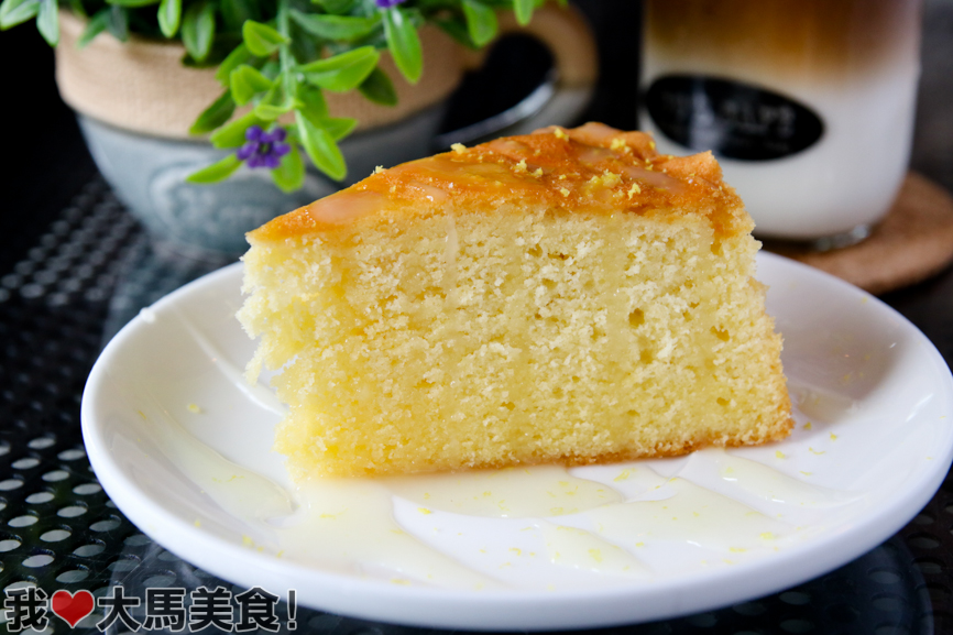 butter cake, 80's cafe, kota damansara, selangor