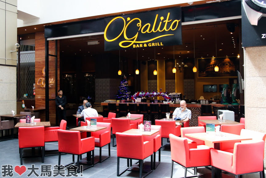 o' galito, restaurant, bar, pavilion kl, 意大利餐厅